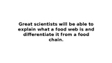 Ecosystems - Food Web Intro Lesson PPT