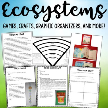 Ecosystems: Food Webs, Food Chains, Biomes, and More!