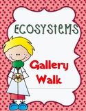 Pearson Science 5th grade Chapter 4 Ecosystems Gallery Walk