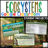 Ecosystems Projects Google Classroom   Poster Google Slide