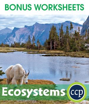 Ecosystems Gr. 5-8 - BONUS WORKSHEETS