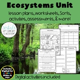 Ecosystems Lesson Plans {Digital & PDF Included}