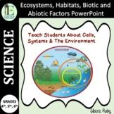Ecosystems, Habitats, Biotic and Abiotic Factors PowerPoint