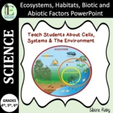 Ecosystems, Habitats, Biotic and Abiotic Factors PowerPoint