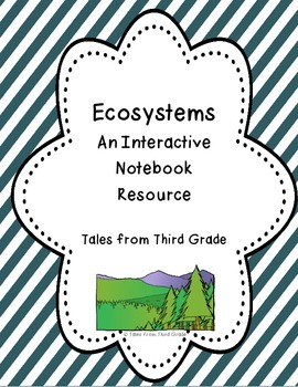 Ecosystems/ Habitats Interactive Notebook