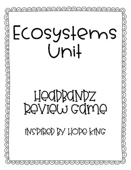 Ecosystems Headbandz Review Game