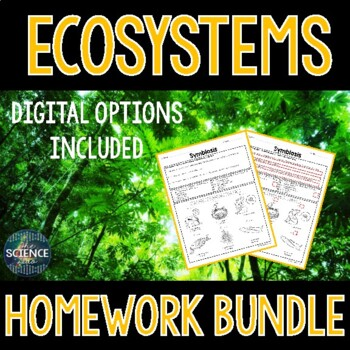 Ecosystems Homework