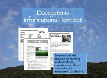 Ecosystems Informational Text Set
