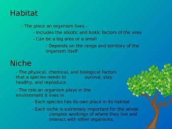 Interactions of ecosystems powerpoint