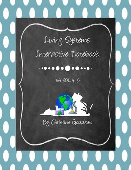 Ecosystems Interactive Notebook - Virginia SOL 4.5 - Science Unit