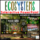Ecosystems Distance Learning Google Classroom | PowerPoint - Interactive