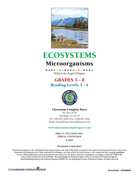 Ecosystems: Microorganisms Gr. 5-8