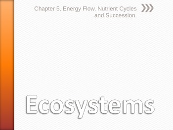 Ecosystems Powerpoint