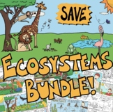 Ecosystems Bundle: Producers, Consumers, and Decomposers Comics