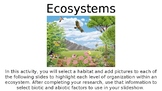 Ecosystems Project