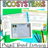 Ecosystems Project Based Learning - Design Your Own Ecosystem Zoo