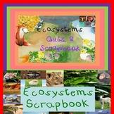 Ecosystems Life Science Biology Quiz & Scrapbook SPED/Autism/ELD