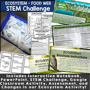 Ecosystems Activities Resource Bundle
