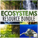 Ecosystems Activities Resource Bundle | Project STEM Ecology Food Chain Food Web