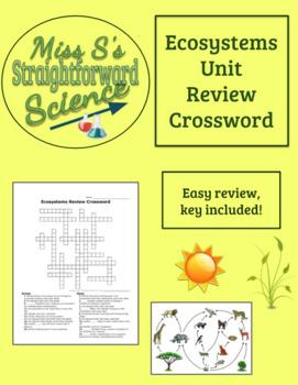 Ecosystems Review Crossword