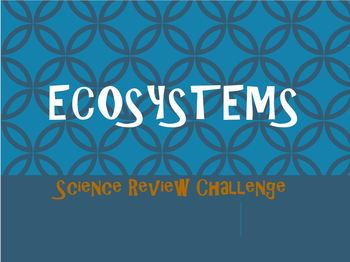Ecosystems Review Game