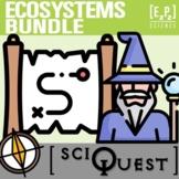 Ecosystems SciQuest Science Scavenger Hunt Bundle- Print a