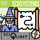 Ecosystems SciQuest Science Scavenger Hunt- Print and Digital