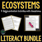 Ecosystems Science Literacy Bundle
