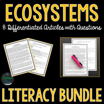 Ecosystems Science Literacy Bundle