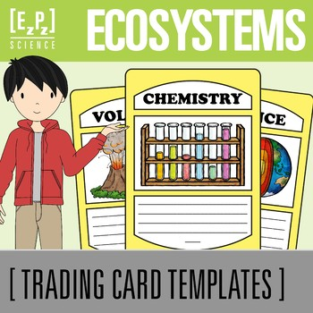 Ecosystems Science Trading Cards