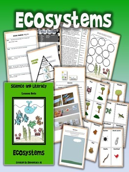 Ecosystems Science and Literacy Lesson Set (TEKS & NGSS)
