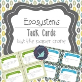 Ecosystems: Animal Systems and Life Cycles Task Cards