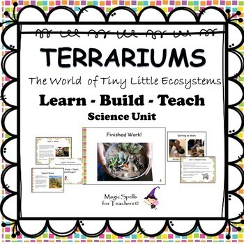Ecosystems Terrarium Building Project - Hands on Fun - Project Based Learning
