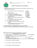 Ecosystems Test