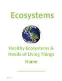 Ecosystems Unit 1 - Student Booklet