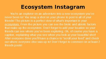 Ecosystems- Unit Powerpoint