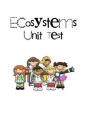 Ecosystems Unit Test