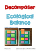 Ecosystems Unit: Vocabulary, Research, Biome Project, Food