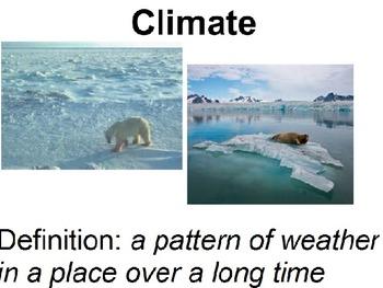 Ecosystems Vocabulary