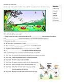Ecosystems Vocabulary Quiz