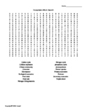 Ecosystems Vocabulary Word Search for Environmental Science