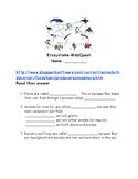 Ecosystems WebQuest (food chains)