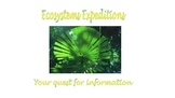 Ecosystems Webquest and Project