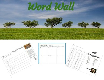 Ecosystems Word Wall