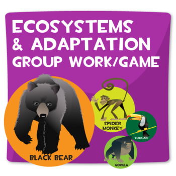 Ecosystems and Adaptation Group Work/Game