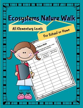 Ecosystems and Adaptations Nature Walk