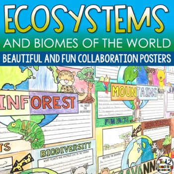 Ecosystems and Biomes Collaborative Posters