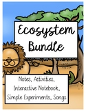 Ecosystems and Biomes MEGA BUNDLE! 314 Pages! (Advanced, S