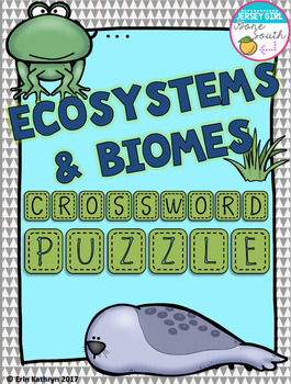 Ecosystems and Biomes Vocab... by Jersey Girl Gone South ...