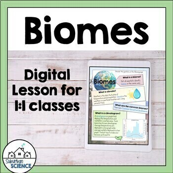 Ecosystems and Biomes - World Biomes, Climate and Food webs